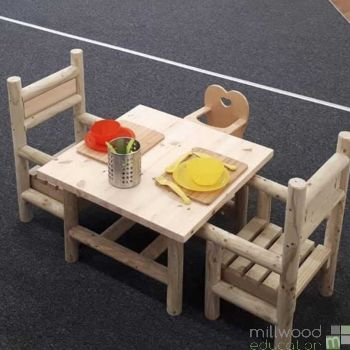 Indoor Table and Two Chair Set