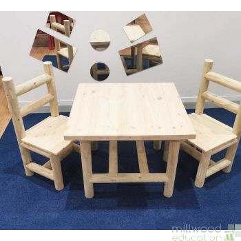 Indoor Table and two Chairs