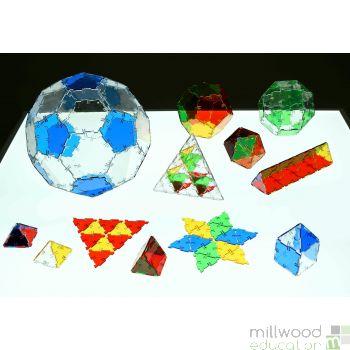 Crystal Polydron Class Set
