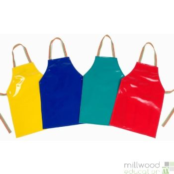 PVC Plain Aprons Small