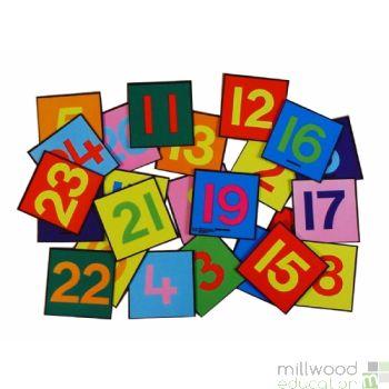 1-24 Number Tiles