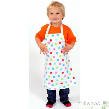 Childrens Apron Dotty