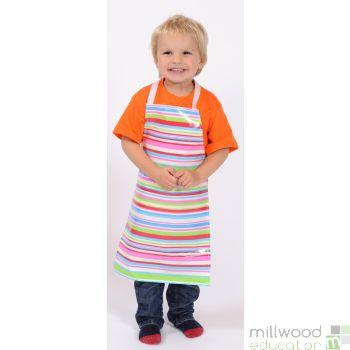 Childrens Apron Tutti Frutti Stripe
