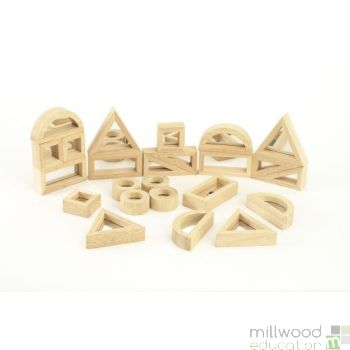 Standard Mirror Blocks (Set of 24)