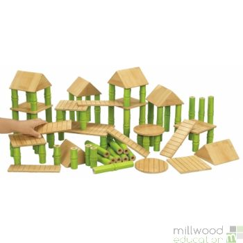 Bamboo Building Blocks