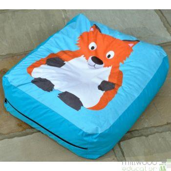 Woodland Bead Cushion FOX