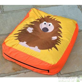 Woodland Bead Cushion HEDGEHOG