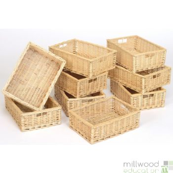 Willow Baskets SHALLOW