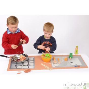 Role Play Mat (Kitchen)