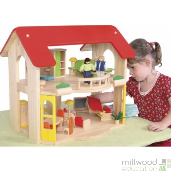 Wooden Home Playset