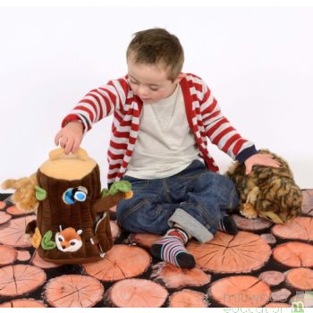 Logs Nature Playmat