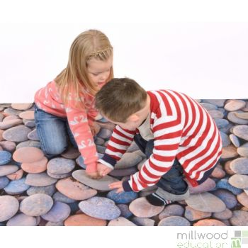 Images in Nature Playmat Pebbles