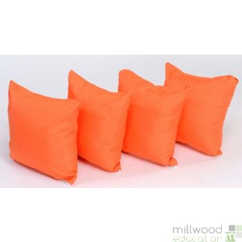 Picnic Cushion Sets Orange
