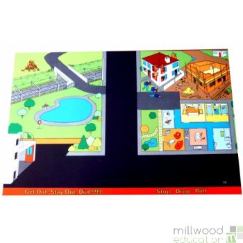Fire Safety Playmat