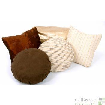 Cushions Earthy Tones