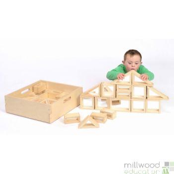 Mirror Block Set (Includes Box)