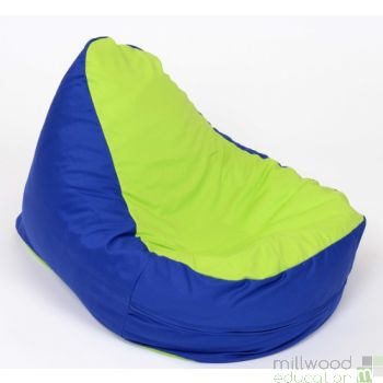 Shaped Bean Bag - Lime Seat
