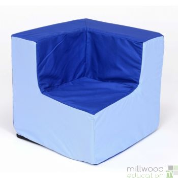 Pre-School Blue/Blue Corner Chair