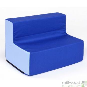 Toddler Sofa Blue/Blue