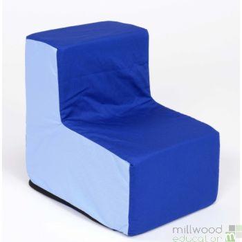 Toddler Chair Blue/Blue