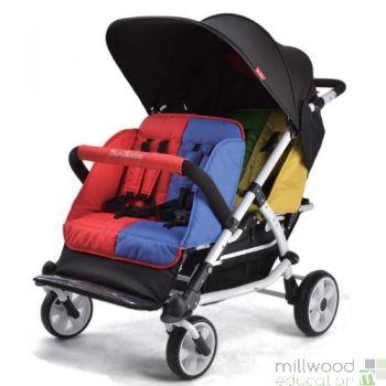 Lightweight Stroller 4 Seater