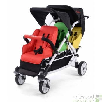 Lightweight Stroller 3 Seater