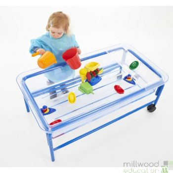 Sand And Water Table - Clear Tray - H58cm