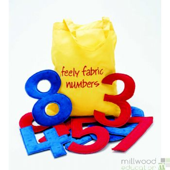 Feely Fabric Numbers 0-9