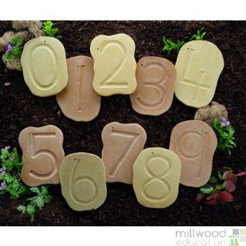 Feels-Write Number Stones