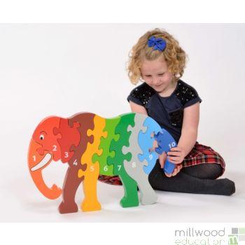 Jumbo Elephant Puzzle