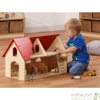 Farm Building Playset