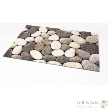 Natural Rug - Pebbles Large