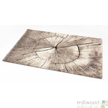 Natural Rug - Wood Large