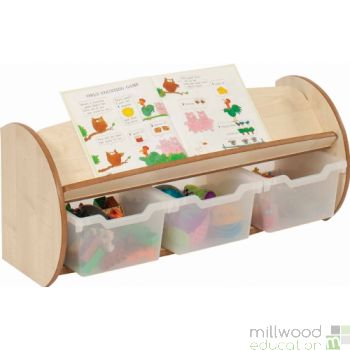 Mini and Toddle Display & Store Clear Trays