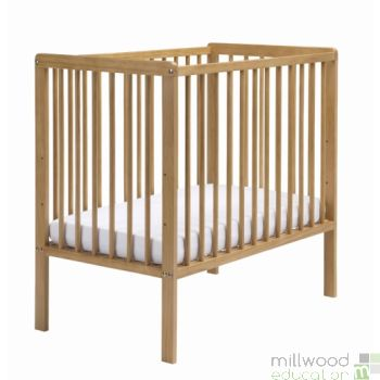 Space Saver Cot Antique Wood