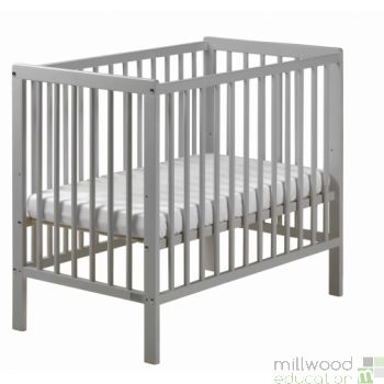 Space Saver Cot Grey