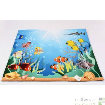 Padded Playmat Under The Sea