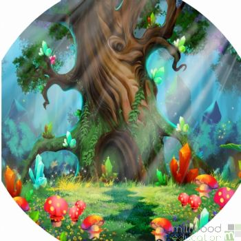 Tuff Tray Playmat (Fairytale)
