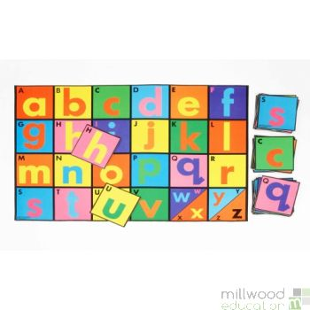 Alphabet Playmat and Tiles Set