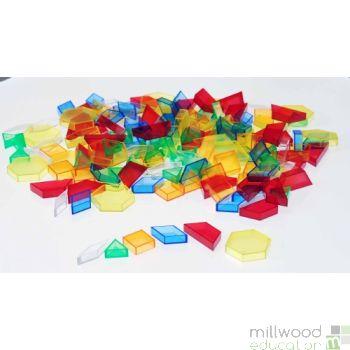 Translucent Hollow Pattern Blocks