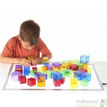 Translucent Cube Set