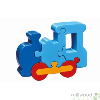 Shaped Block Puzzle Train