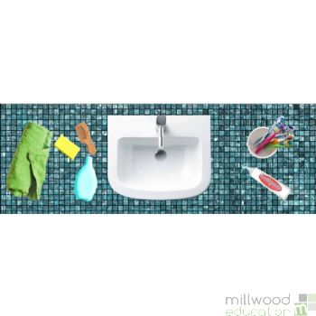 Role Play Mat (Bathroom)