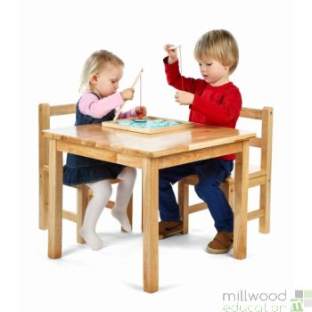 Bistro Square Table and Chairs Set