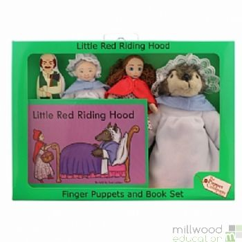 Traditional Story Set Little Red Riding Hood