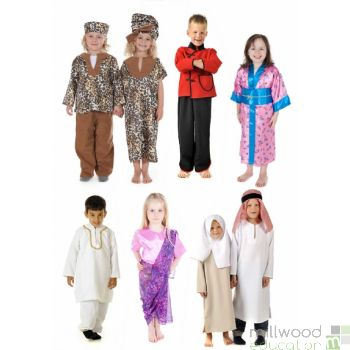 Multicultural Dressing Up Costumes