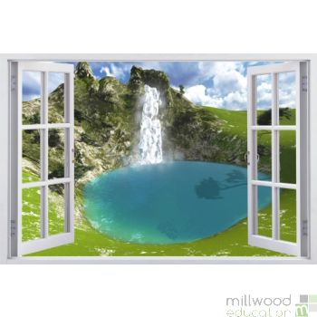 Windows to the World - Waterfall (Medium)