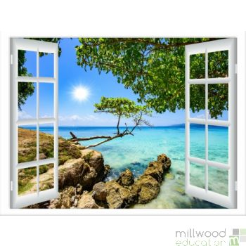 Windows to the World – Tropical (Large)