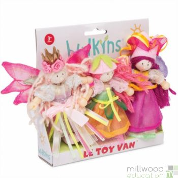 Budkins Garden Fairies Set