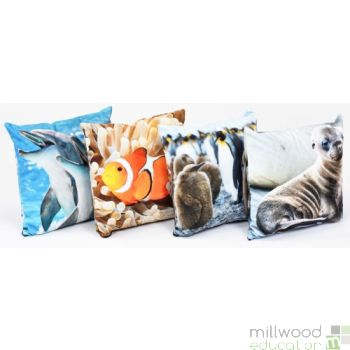 Cushions - Baby Sea Life